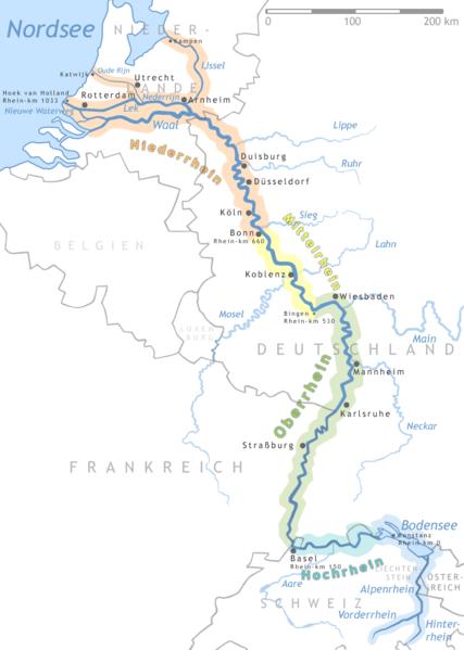 Река рейн рейн крупная река в западной