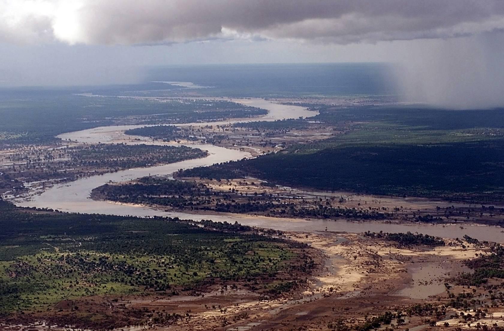 Река конго сверху
